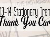 2013-14 Wedding Stationery Trend: Thank Cards