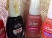 Maybelline Colorama Nail Polish- Nude, Coral Chic, Gabriele, Black Swatches Review