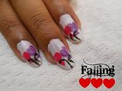 Valentine's Nail Tutorial (Vol. Flying Hearts