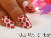 Valentine's Nail Tutorial (Vol. Polka Dots Heart