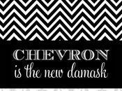BTW... Chevron Damask