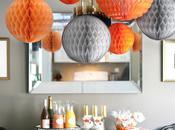 BABY SHOWER PICS: Gray/White/Orange
