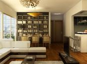 Inspiring Living Room Digital Rendering