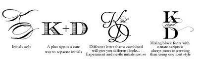 Design Wedding Monogram