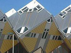 Curious Cubic Houses Rotterdam