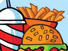 Children, Teens Fast Food Calories