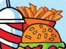 Children, Teens Fast Food Calories