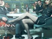 "Yulia Kharlapanova ""Risky Business"" Benjamin Kanarek Harper's BAZAAR Español November 2011"