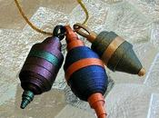 Rolled Paper Pendants
