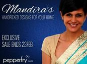 Press Release: Mandira Bedi's Favourites Sale Pepperfry.com!