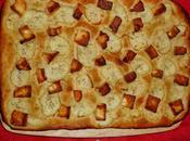Potato, Rosemary Halloumi Focaccia: GBBO Week