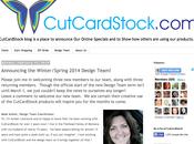CT-Designs Named Card Stock's Winter/Spring 2014 Design Team!