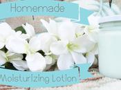 Homemade Moisturizing Lotion