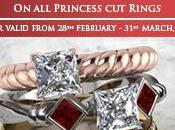 Princess Diamond Rings