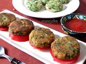 Adraki Palak Aloo Kabab