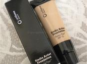 Review Swatches: Oriflame Beauty Studio Artist Foundation Illuma Flair (Olive Beige Natural Beige)