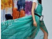 Fashion Model Kate Bogucharskaia Vogue Russia, April 2014
