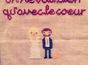 Love Cross Stitch/embroidery When Merry Gave