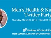 Men's Health Nutrition Twitter Chat with Puritan's Pride
