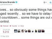 Chris Brown Ariana Grande's Deut Will Postponed