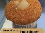 Rumskey Custard Filled Pineapple Cupcakes