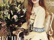 Eugenia Volodina Harper's Bazaar Magazine, Russia, April 2014