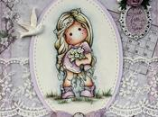 March Magnolia Ribbon Girl