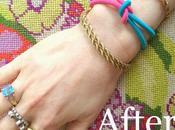 Done Flash DIY: Infinity Bracelet