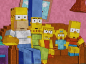 Simpsons Does Minecraft Couch