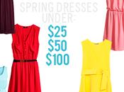 Spring Dresses $25, $100