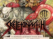 SKELETONWITCH ANNOUNCES SUMMER EUROPEAN TOUR--Band Posts Behind-the-scenes Videos Recent Amon Amarth Tour, Animal Shelter Donations