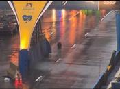 Apparently, Kayvon Edson Jokes, Leaves Backpack Boston Marathon Finish Line