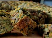 Have Blessed Easter! Nature Inspired Wholewheat Spinach Carrot Sunflower Bread