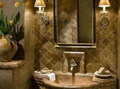 Tuscan Inspired Bathroom Design