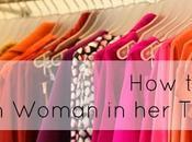 Stylish Woman Thirties