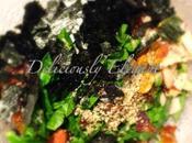 Seaweed Spinach Salad