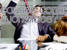 What Causes Conflict Workplace?