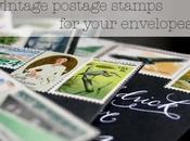 Vintage Postage Stamps Your Envelopes