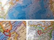 Globe Alternative Guestbook Idea