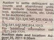Storage Unit Auctions Newport News