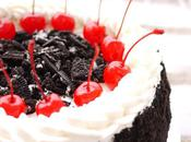 Oreo Cherries Birthday Cake