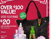 Bath Body Works: 2011 V.I.P.