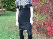 Vintage 1970's Leslie Sequin Dress