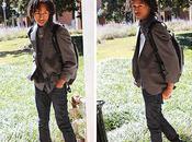 Model: SHUAYB MUHAMMADGray Blazer: Oakton ltd.Pants...