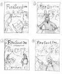 FireSeed Book Cover Illustration Design