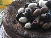 Memorial Special Blackberry, Cardamom Chocolate Cake with Green Black's!