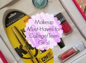 Makeup Must-Haves College/Teen Girls!