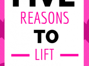 Five Reasons Lift Weights