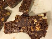 Dark Chocolate Peanut Butter Nutella Granola Bars #LeftoversClub
