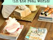 Inspired Design Monday: Tips Styling Your Coffee Table Real World
